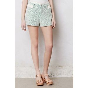 Anthropologie {Cartonnier} Rose Point Lace Shorts